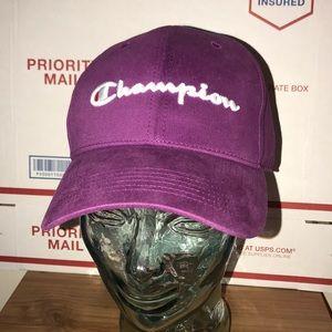 Brand new unisex purple champion hat cap 21a63a59ddb3